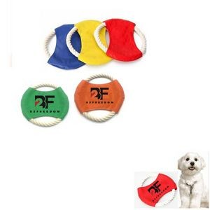 Pet Outdoor Training Tool Canvas Flying Disc